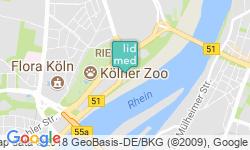 GoogleMaps LIDMED Ästhetische medizinische Lidchirurgie Köln